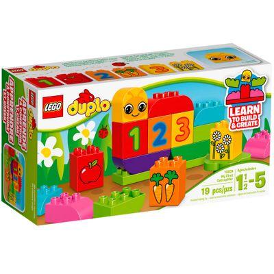 10831 - LEGO Duplo - Meu Primeiro Jardim com Lagartinha