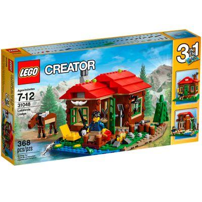 31048 - LEGO Creator - 3 em 1 - Casas do Lago
