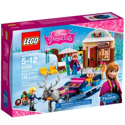 41066 - LEGO Disney Princesas - Frozen - Aventuras de Trenó da Anna e Kristoff