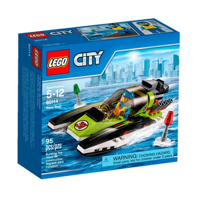 60114 - LEGO City - Barco de Corrida
