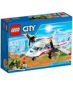 60116---LEGO-City---Aviao-Ambulancia