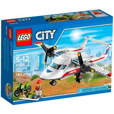 60116 - LEGO City - Avião Ambulância