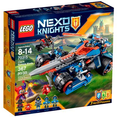 70315 - LEGO Nexo Knights - Veículo com Espada do Clay