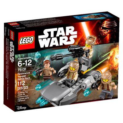 75131 - LEGO - Disney Star Wars - Episodio VII - Nave de Batalha da Resistência