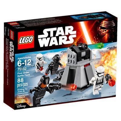 75132 - LEGO - Disney Star Wars - Episodio VII - Nave de Batalha da Primeira Ordem
