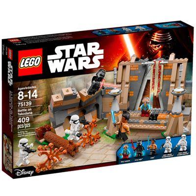 75139 - LEGO - Disney Star Wars - Episodio VII - Playset Batalha em Takodana