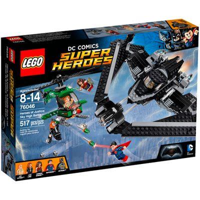 76046 - LEGO DC Super Heroes - Batman Vs Superman - A Origem da Justiça - Batalha nos Céus
