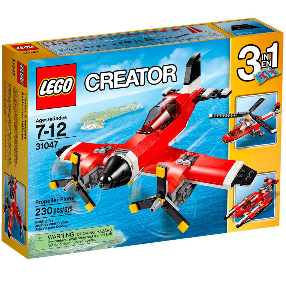 LEGO Creator - 3 em 1 - Veículos Aquáticos - 31047