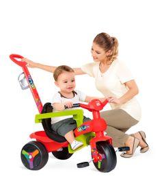 Triciclo---Veloban-de-Passeio-Plus---Vermelho---Bandeirante
