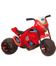Triciclo-Eletrico---Supercross-Vermelha---6V---Bandeirante