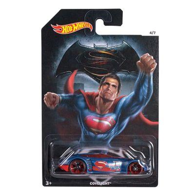 Carrinho Hot Wheels - DC Comics - Batman Vs Superman - A Origem da Justiça - Superman - Coverlight - Mattel