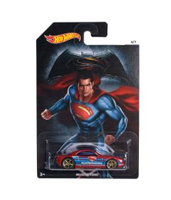 Carrinho-Hot-Wheels---DC-Comics---Batman-Vs-Superman---A-Origem-da-Justica---Superman---Muscle-Tone---Mattel