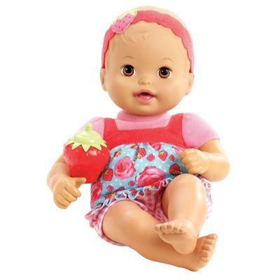 Boneca Bebê - My Little Mommy - Recém Nascido - Roupinha Moranguinho - Mattel