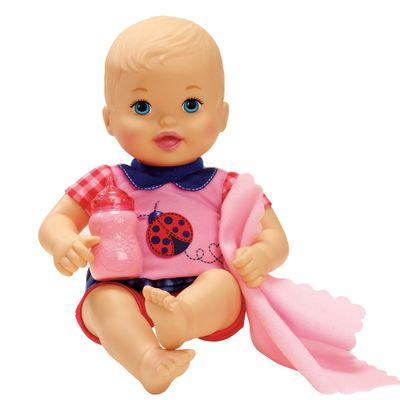 Boneca Bebê - My Little Mommy - Recém Nascido - Roupinha Joaninha - Mattel