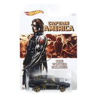 Carrinho-Hot-Wheels-Colecionavel---Serie-Marvel-Capitao-America---The-Winter-Soldier---Rivited---Mattel