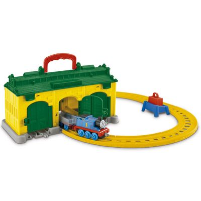 Ferrovia Thomas & Friends - DC Estação Tidmouth - Fisher-Price