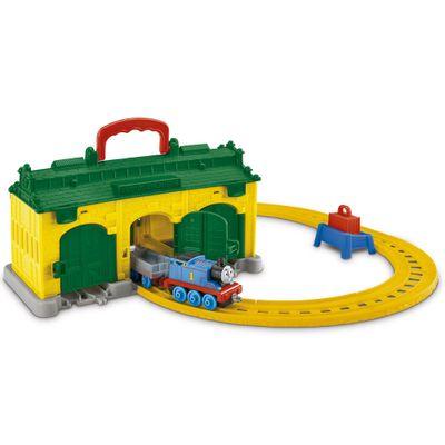 Ferrovia Thomas & Friends - DC Estação Tidmouth - Fisher-Price