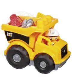 Conjunto-Mega-Bloks---First-Bloks---Caminhao-CAT---Mattel