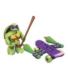 Figura-Mega-Bloks---Tartarugas-Ninja---Donie-Skate-Attack---Mattel