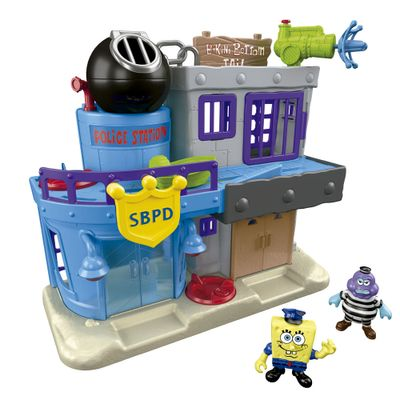 Playset Imaginext - Bob Esponja - Prisão da Fenda do Binquíni - Fisher-Price