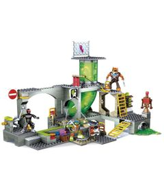 Mega-Bloks---Tartarugas-Ninja---Conjunto-Esgotos---Mattel