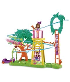 Playset-e-Mini-Boneca-Polly-Pocket---Surpresa-Safari---Diversao-na-Tirolesa---Mattel