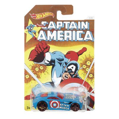Carrinho Hot Wheels Colecionável - Série Marvel Capitão América - Capitão América - Sir Ominous - Mattel - Disney