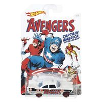 Carrinho-Hot-Wheels-Colecionavel---Serie-Marvel-Capitao-America---The-Avengers---57-Plymouth-Fury---Mattel