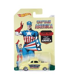 Carrinho-Hot-Wheels-Colecionavel---Serie-Marvel-Capitao-America---Capitao-America-Classic---40-Ford-Coupe---Mattel