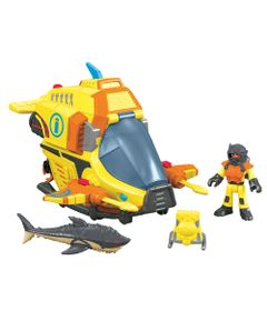 Veiculos-Imaginext---Veiculo-Oceano---Ocean-Submarine---Fisher-Price