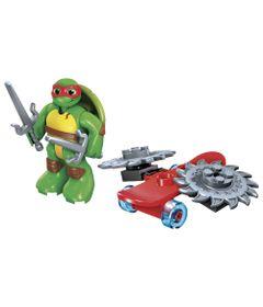 Figura-Mega-Bloks---Tartarugas-Ninja---Raph-Skate-Launch---Mattel