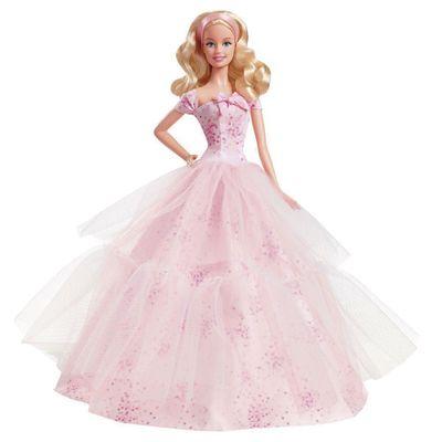 Boneca Barbie Colecionável - Feliz Aniversário - Mattel