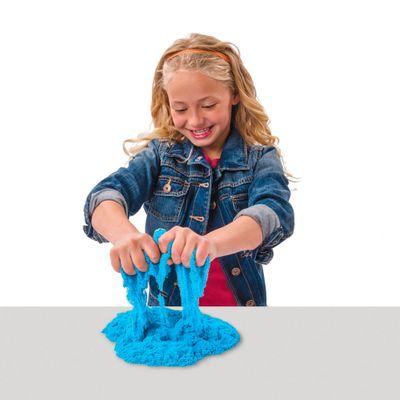 Areia para Modelar - Massa Areia Colorida - Kinectic Sand - Azul - Sunny