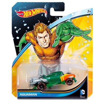 Carrinho Hot Wheels - Personagens DC Comics - Aquaman - Mattel