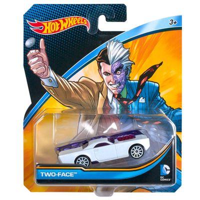Carrinho-Hot-Wheels---Personagens-DC-Comics---Duas-Caras---Mattel