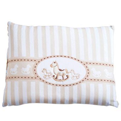 Travesseiro-de-Malha-Bordada---Cavalinho---Bege---Belmar