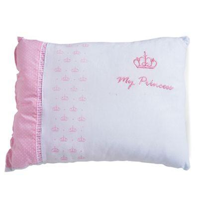 Travesseiro de Malha Bordada - My Princess - Rosa - Colibri