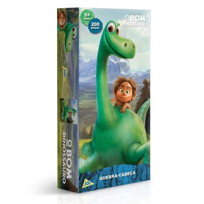 Quebra-Cabeça - O Bom Dinossauro - 200 Peças - Toyster - Disney