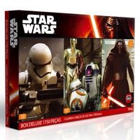 Quebra-Cabeca---Box-Deluxe---Disney-Star-Wars---Episodio-VII---1750-Pecas---Toyster