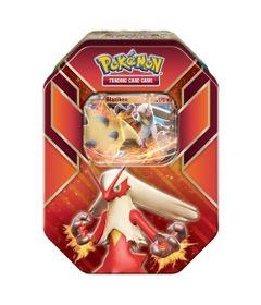 Jogo-Pokemon---Deck-Lata-Pokemon-EX---Hoenn-Power---Blaziken---Copag