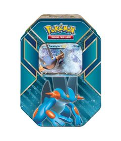 Jogo-Pokemon---Deck-Lata-Pokemon-EX---Hoenn-Power---Swampert---Copag