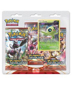 Jogo-Pokemon---Triple-Deck-Pokemon---XY8---Turbo-Revolucao---Celebi---Copag