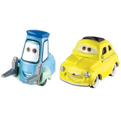 Carrinho-Cars---Veiculo-Basico-Diecast---Guido-e-Luigi---Mattel