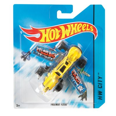 Avião Hot Wheels - Freeway Flyer 2 - Mattel