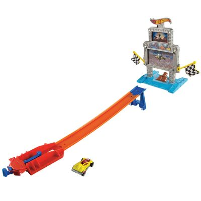 Pista Hot Wheels Radical - Triplo Alvo - Mattel