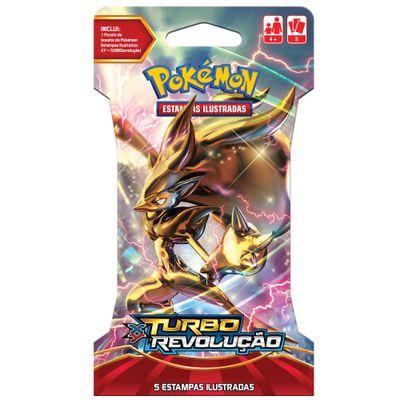Deck Pokémon - Blister Unitário - Pokémon XY8 - Turbo Revelação - Deck Sortido - Copag