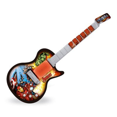 Guitarra Musical - Marvel - Avengers - Toyng