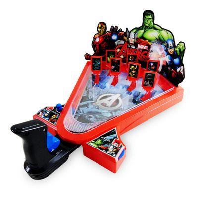 Jogo Pinball Tiro Ao Alvo - Marvel Avengers - Toyng - Disney