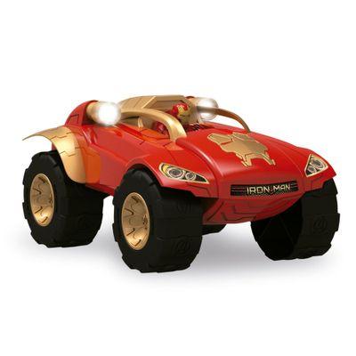 Carrinho de Fricção - Battle Car Marvel Avengers - Iron Man - Toyng - Disney