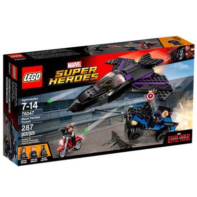 76047 - LEGO Super Heroes - Marvel - Capitão América - Perseguição do Pantera Negra - Disney